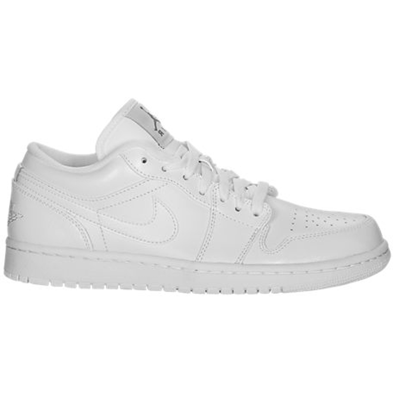 Jordan 1 Low Triple White (553558-100)