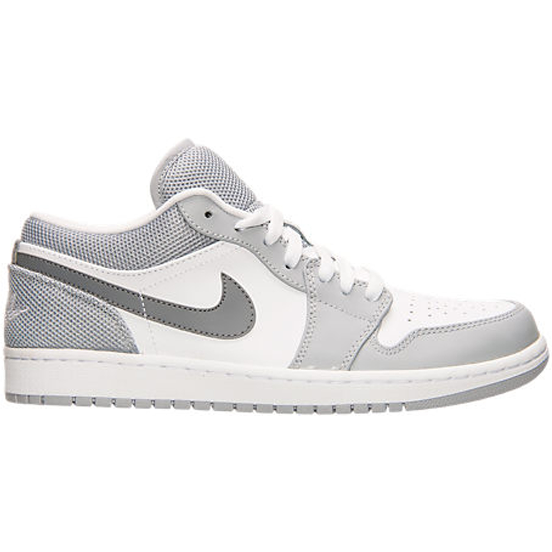 Jordan 1 Low White Cool Grey Wolf Grey (553558-106)