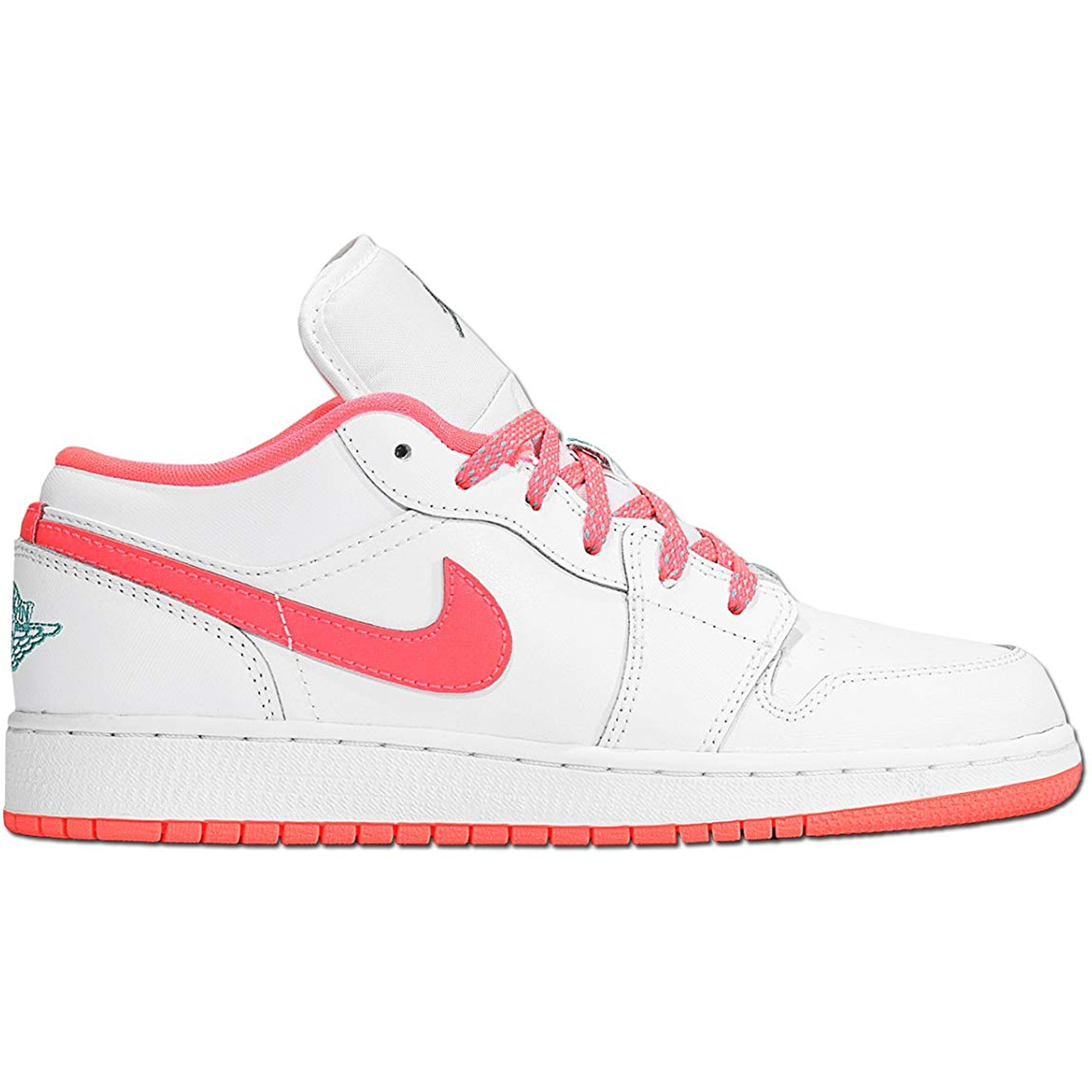 Jordan 1 Low White Hot Lava (GS) (554723-128)