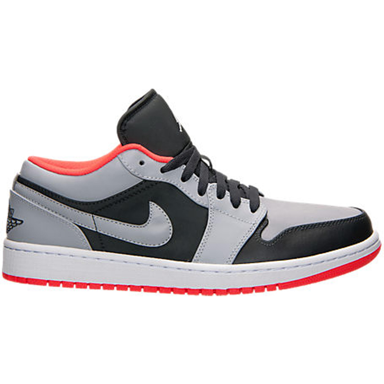 Jordan 1 Low Wolf Grey Infrared 23 (553558-022)
