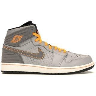 Jordan 1 Retro 93 Wolf Grey Orange
