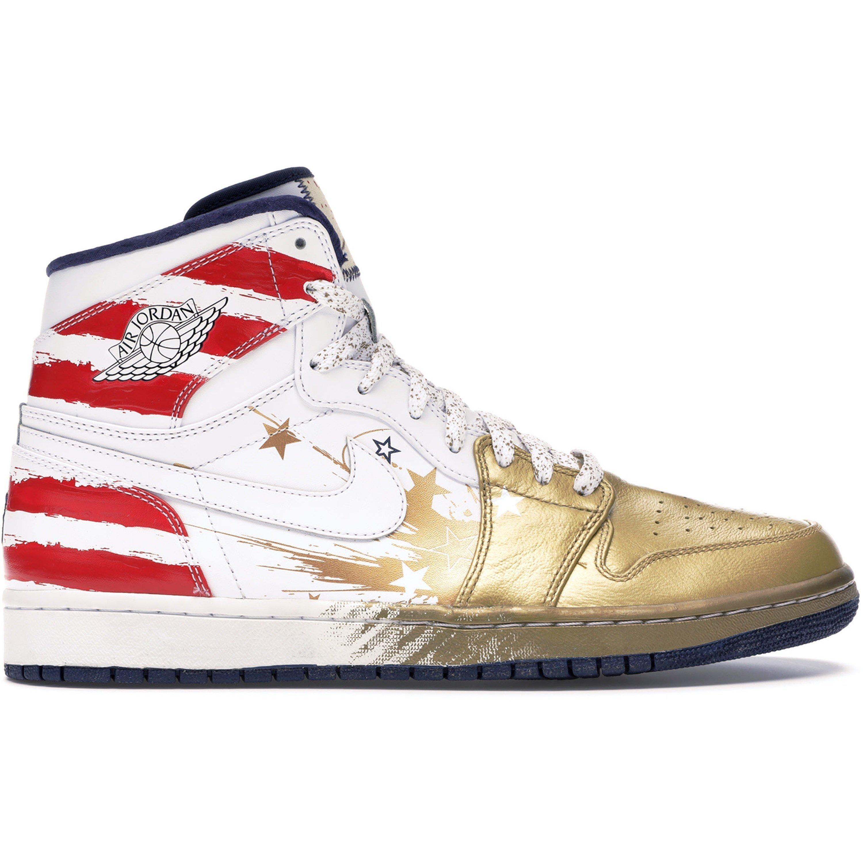 Jordan 1 Retro Dave White Wings For the Future Gold (237399-043)