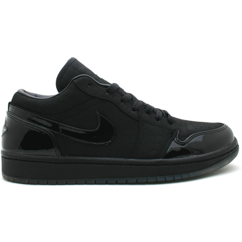 Jordan 1 Retro Low Black Croc (309192-002)