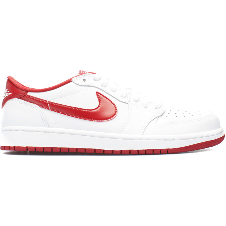 Jordan 1 Retro Low White Varsity Red (705329-101)