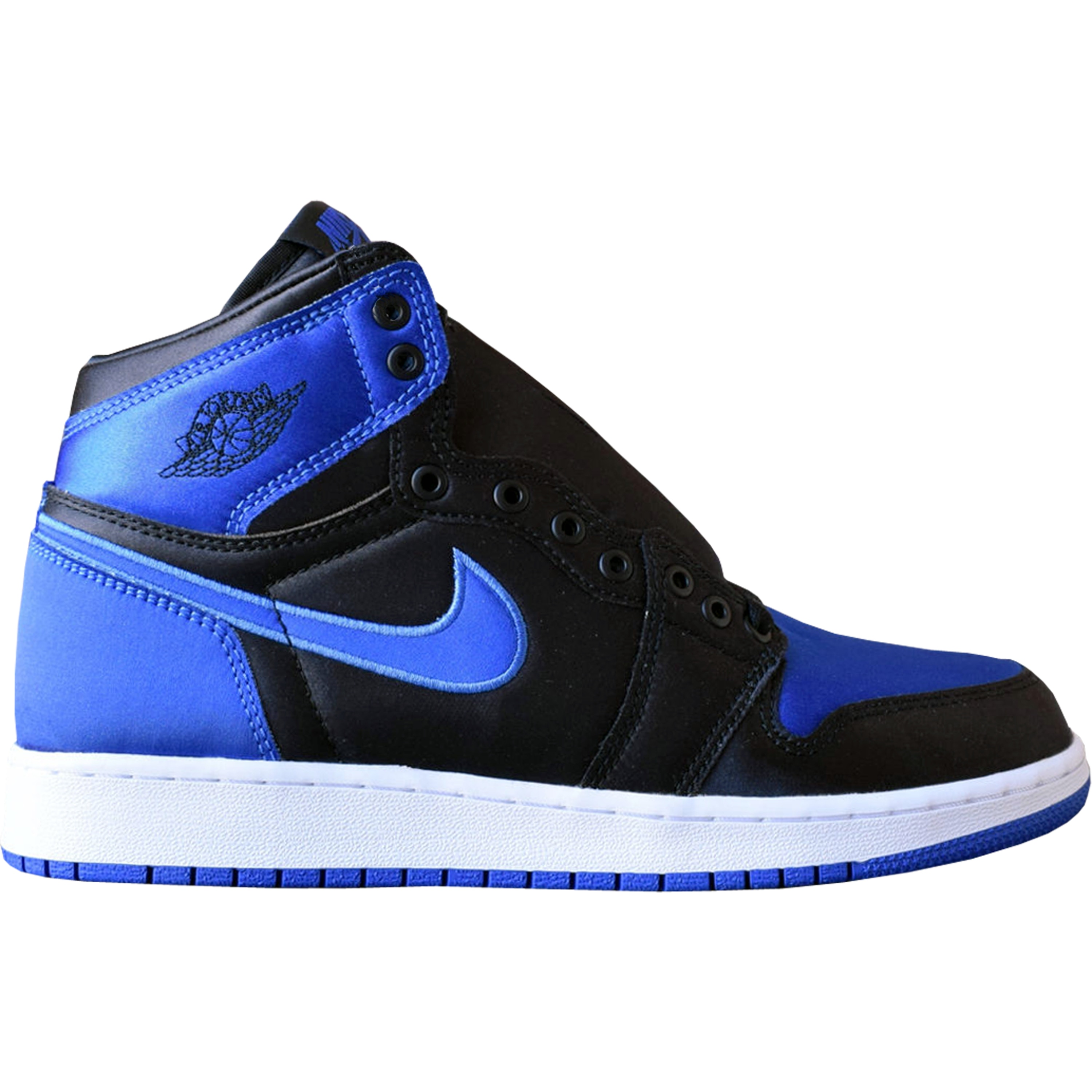 "Jordan 1 Retro Satin ""Royal"" (GS) (AA4073-007)"