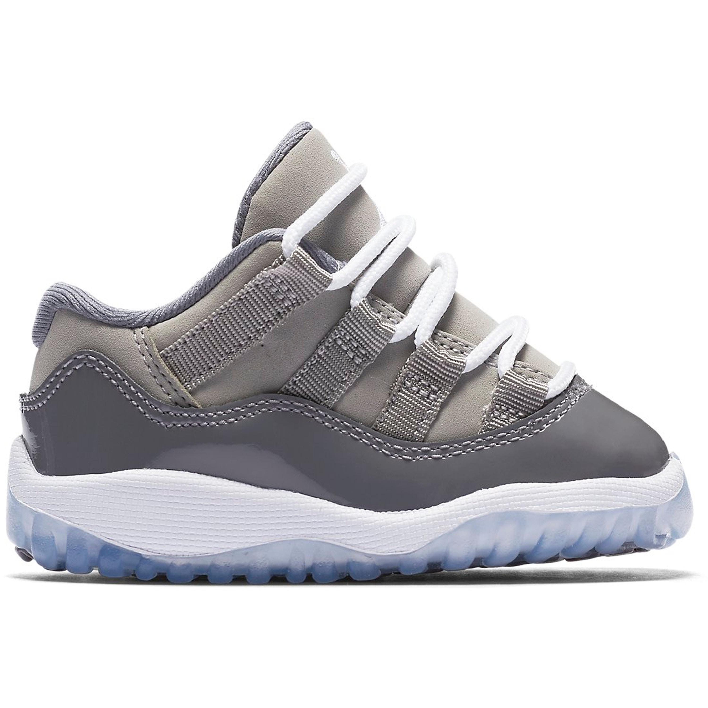 Jordan 11 Retro Low Cool Grey (TD) (505836-003)