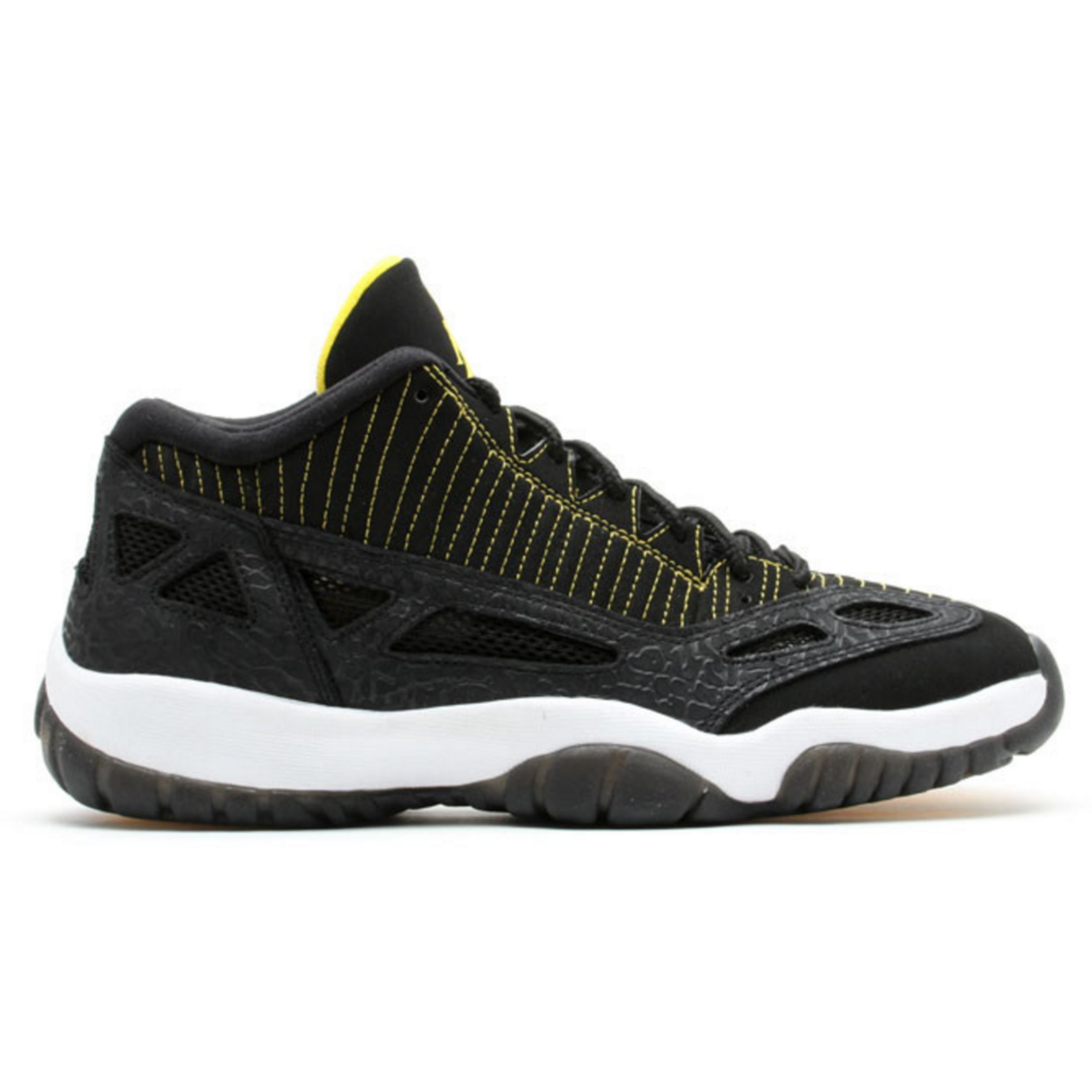 Jordan 11 Retro Low IE Black Zest