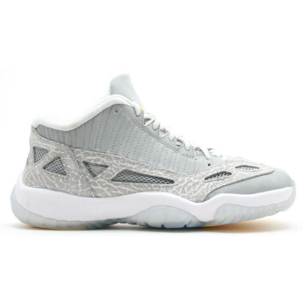Jordan 11 Retro Low IE Silver Zest