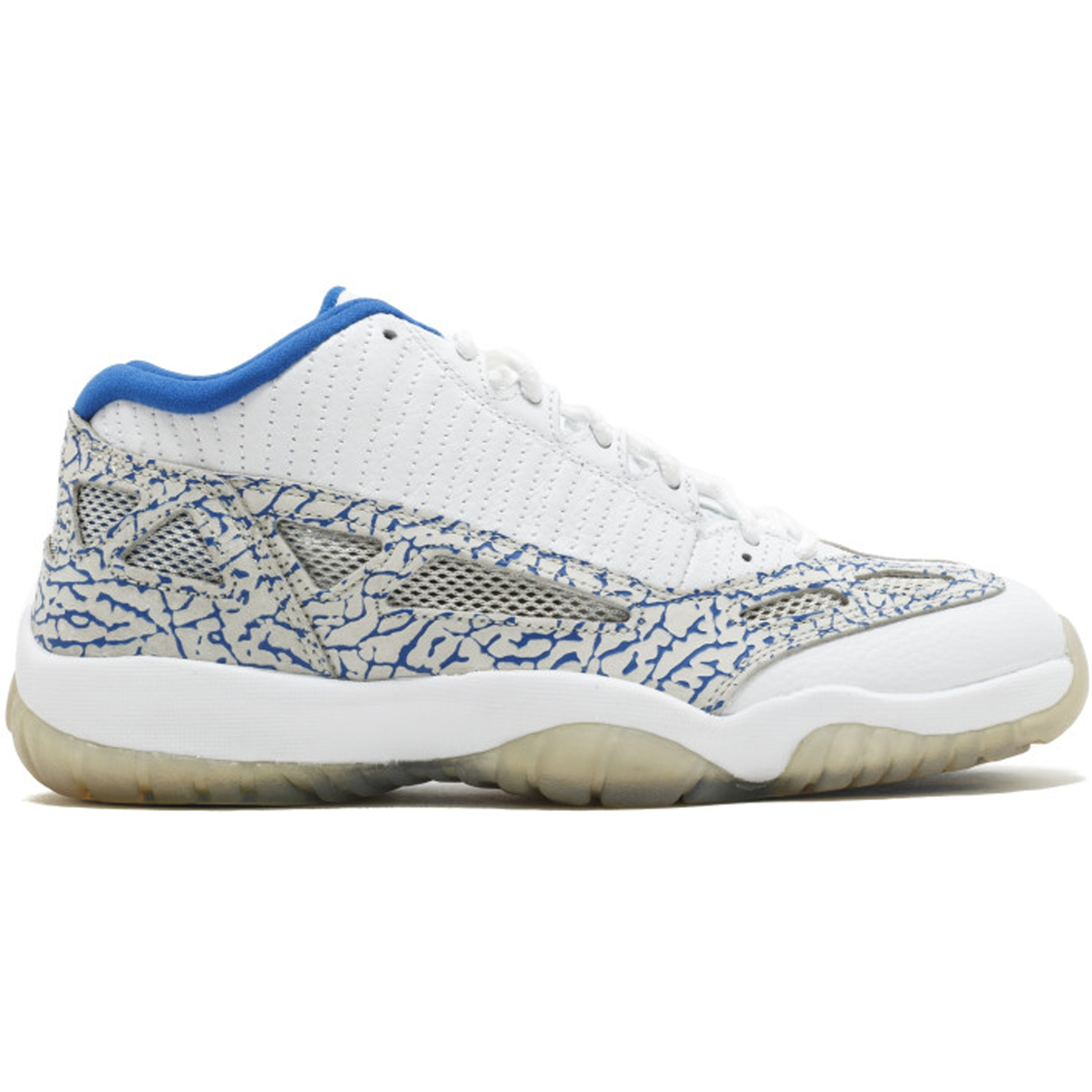 Jordan 11 Retro Low IE White Argon Blue (306008-172)