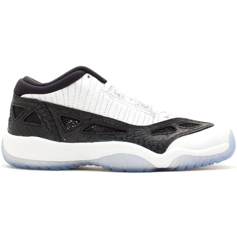 Jordan 11 Retro Low IE White Black 2011 (GS) (306006-100)