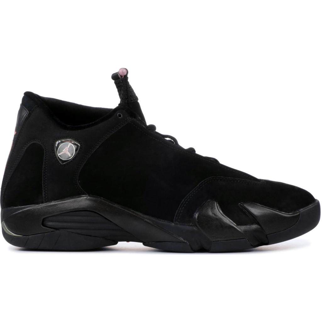 Jordan 14 Retro Black Real Pink (W)