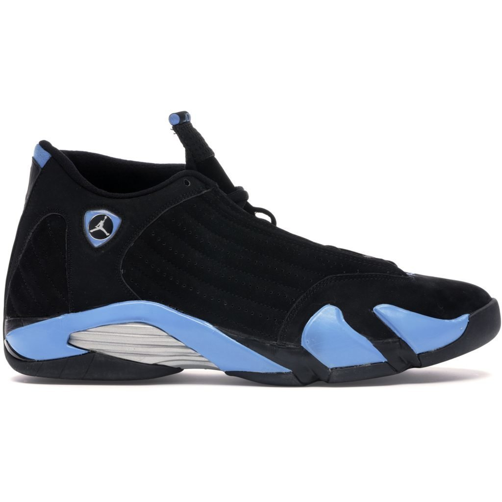 Jordan 14 Retro Black University Blue