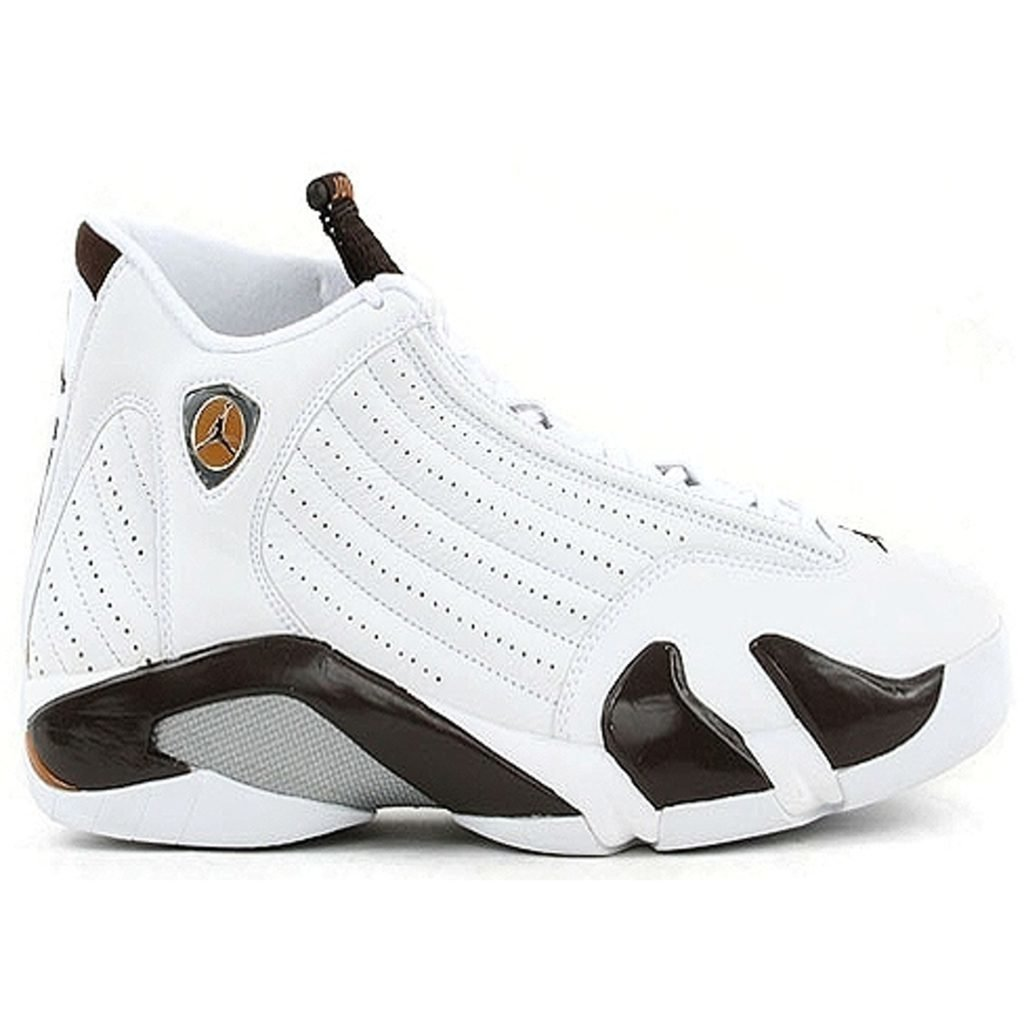 Jordan 14 Retro White Dark Cinder