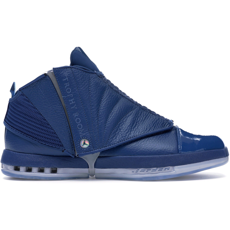 Jordan 16 Retro Trophy Room French Blue (854255-416)