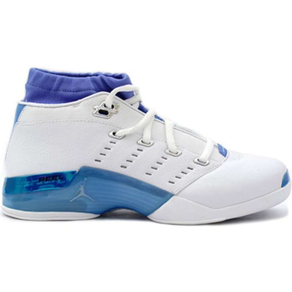 Jordan 17 OG Low White Carolina