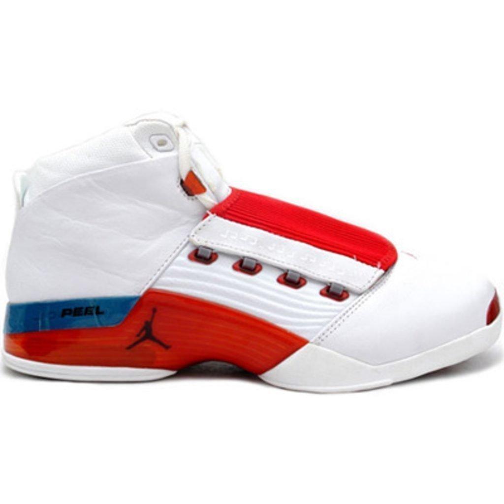 Jordan 17 OG White Varsity Red