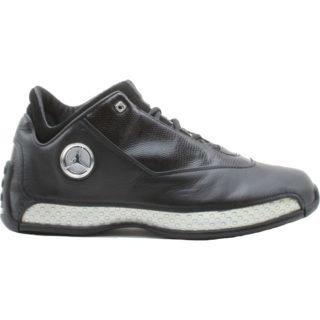 Jordan 18 OG Low Black Silver Chrome