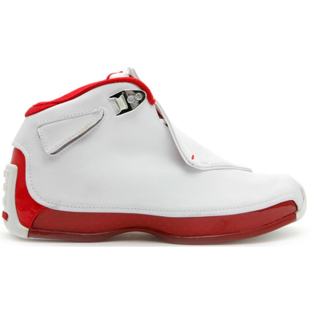 Jordan 18 OG White Red (GS)
