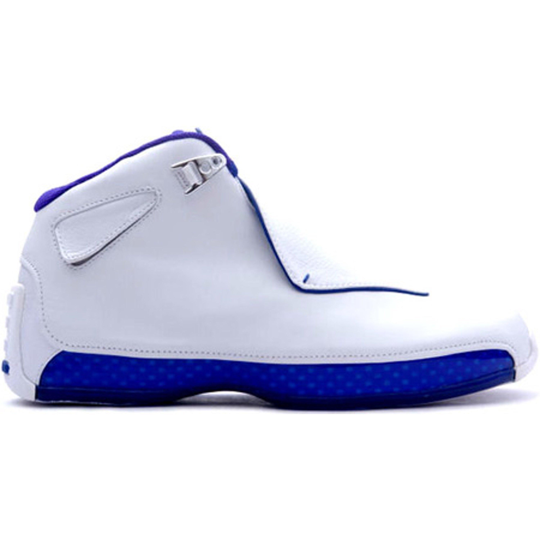 Jordan 18 OG White Sport Royal (305869-101)