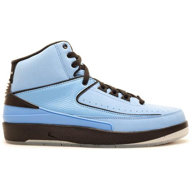 Jordan 2 Retro QF Univ. Blue Black (2010) (395709-401)