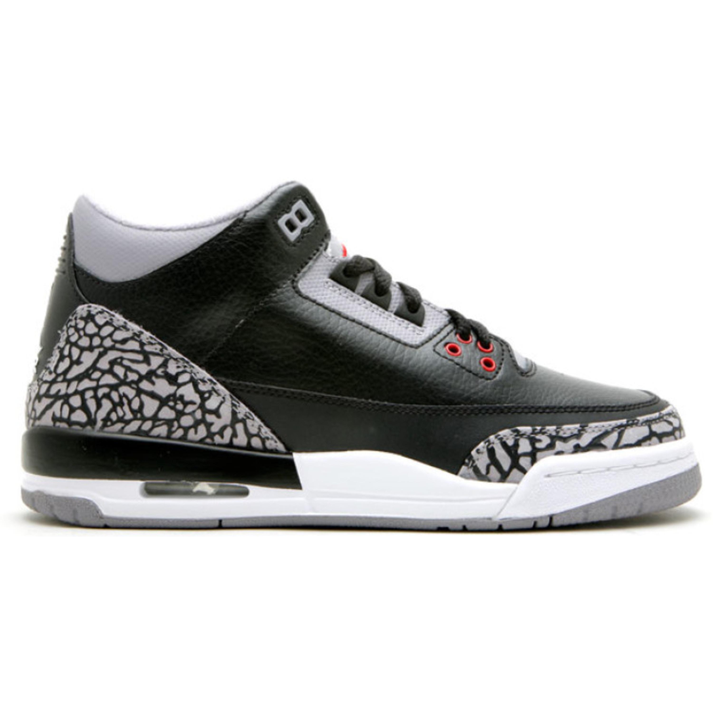 Jordan 3 Retro Black Cement CDP 2008 (GS) (340255-061)
