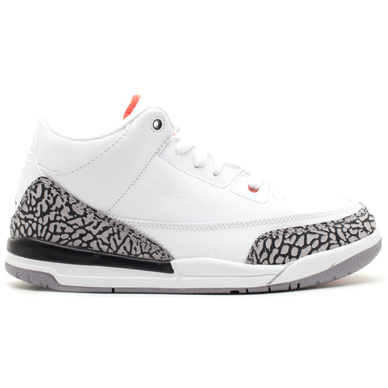 Jordan 3 Retro White Cement 2011 (PS) (429487-105)