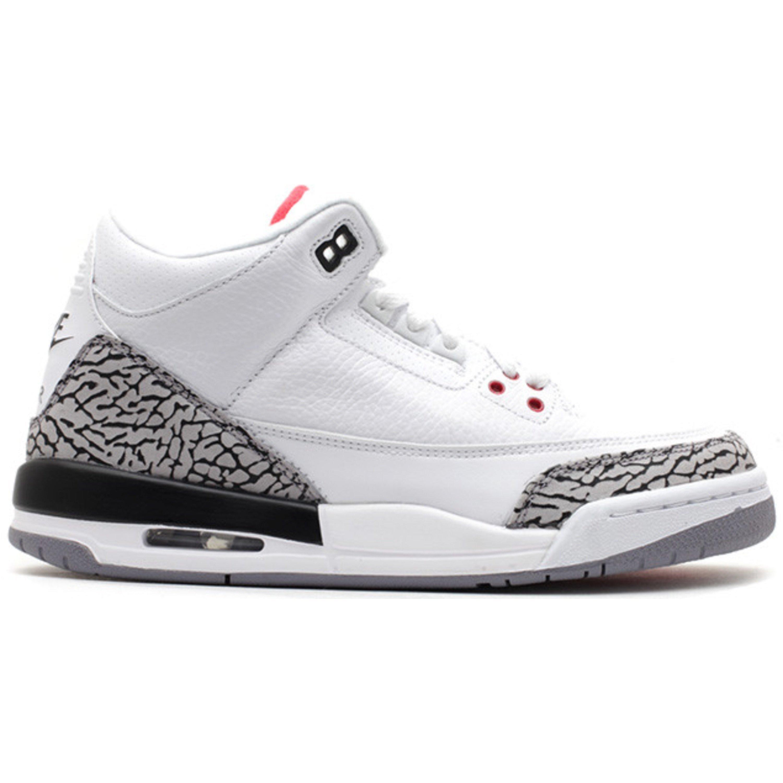 Jordan 3 Retro White Cement '88 Dunk Contest 2013 (GS) (398614-160)