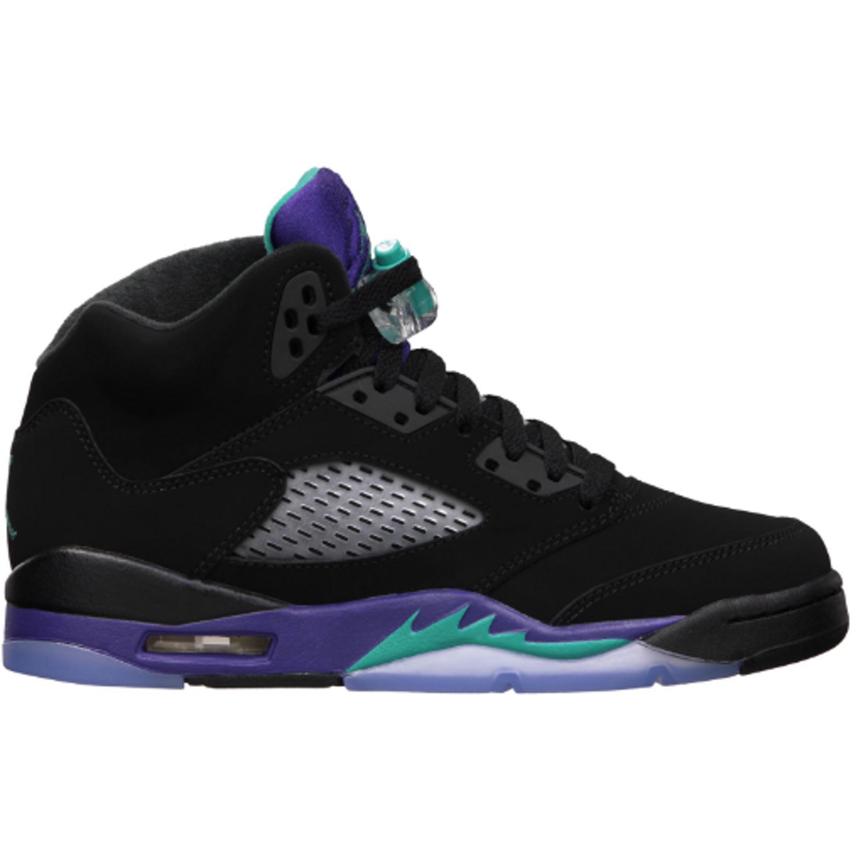 Jordan 5 Retro Black Grape 2013 (GS) (440888-007)