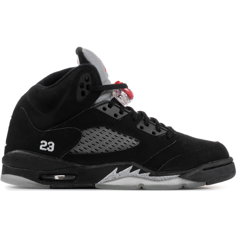 Jordan 5 Retro Black Metallic 2007 (GS) (134092-004)