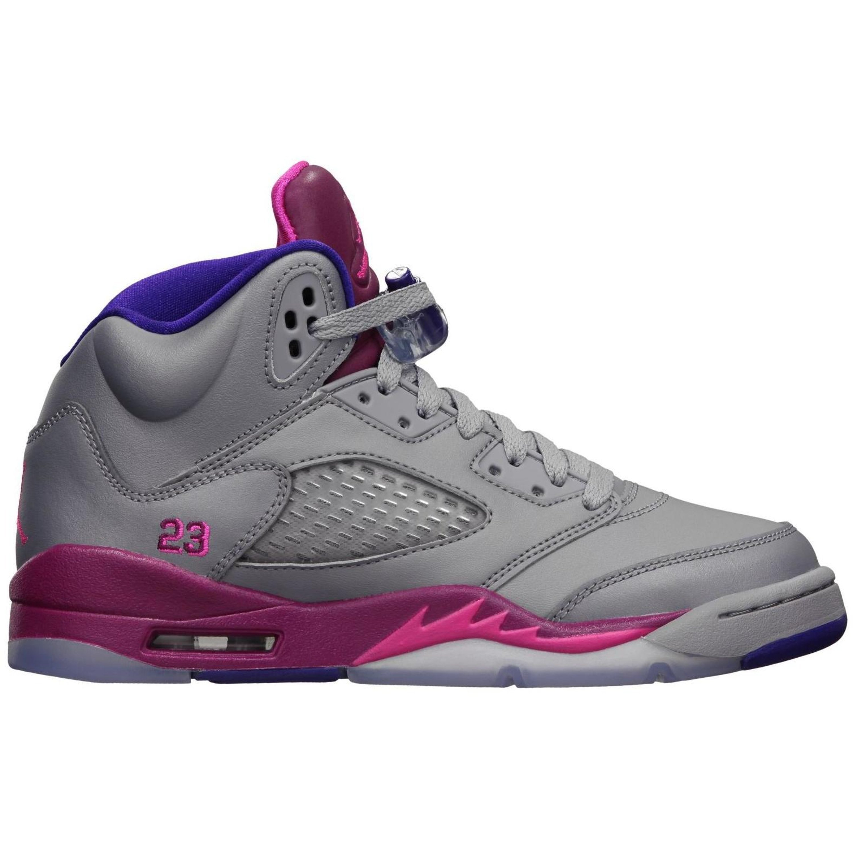 Jordan 5 Retro Cement Grey Pink (GS) (440892-009)