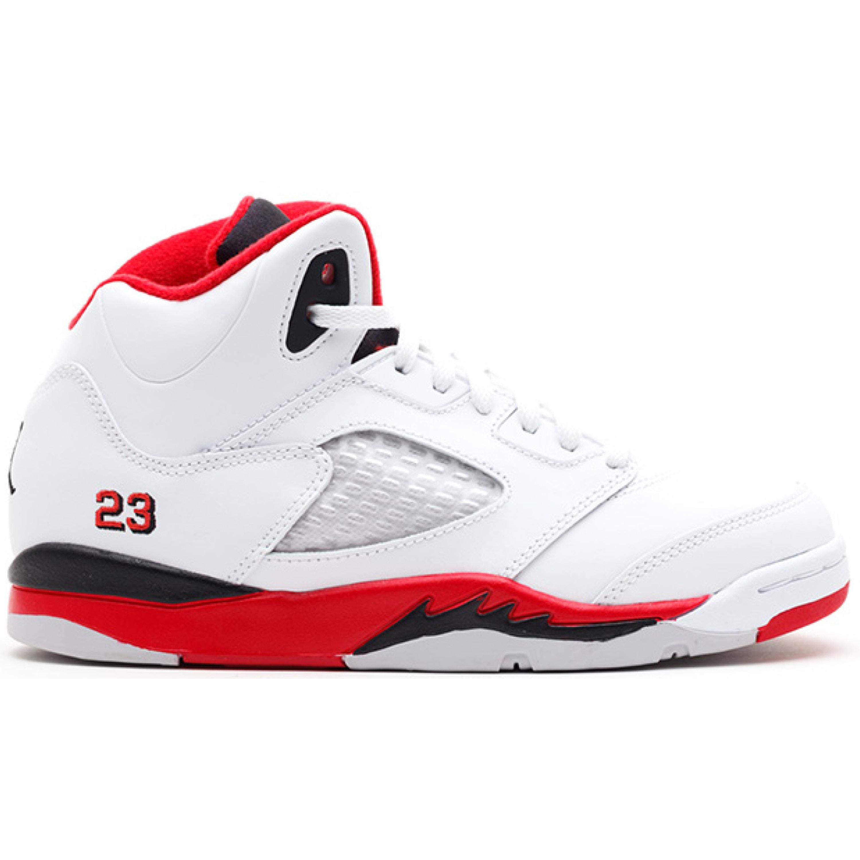 Jordan 5 Retro Fire Red Black Tongue 2013 (PS) (440889-120)