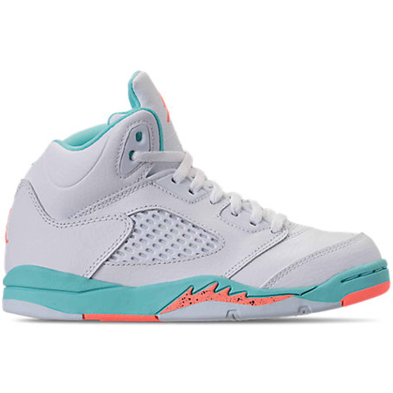 Jordan 5 Retro Light Aqua (PS) (440893-100)