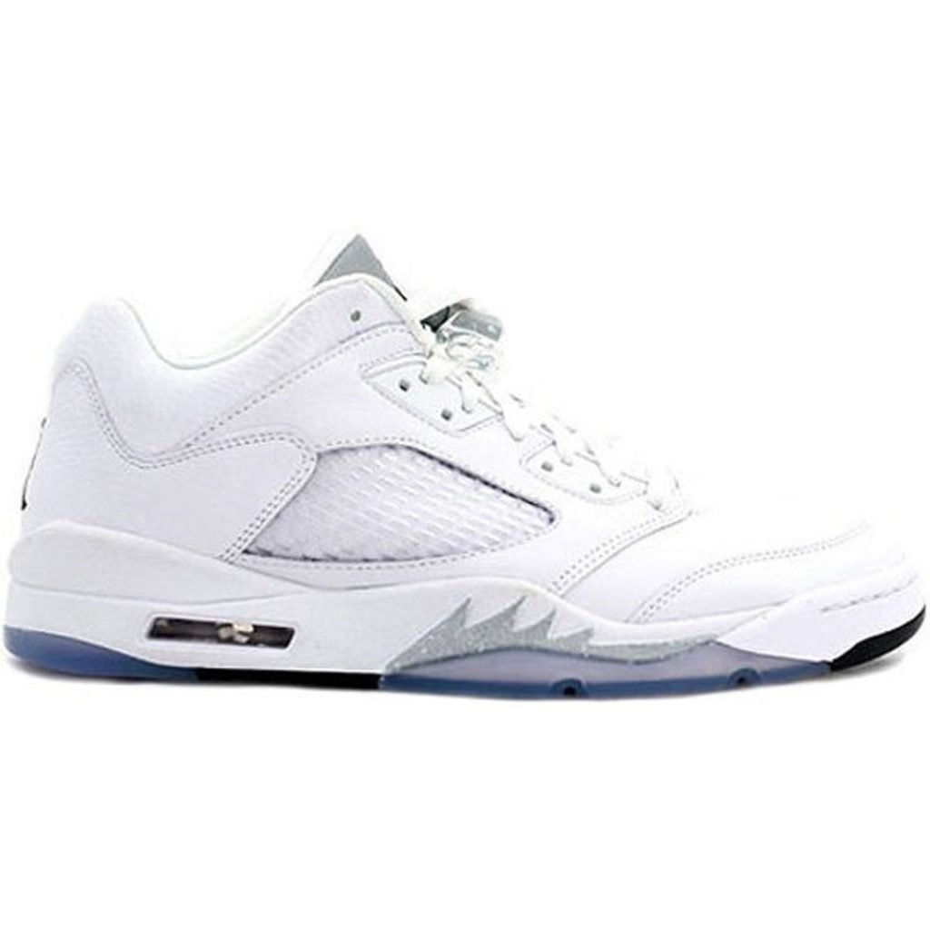 Jordan 5 Retro Low Metallic White (W)