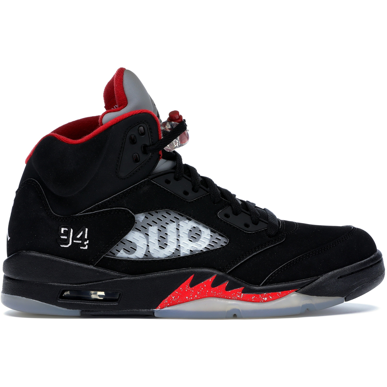 Jordan 5 Retro Supreme Black (824371-001)
