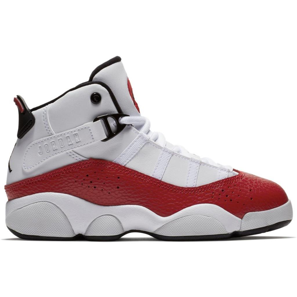 Jordan 6 Rings White University Red (PS)