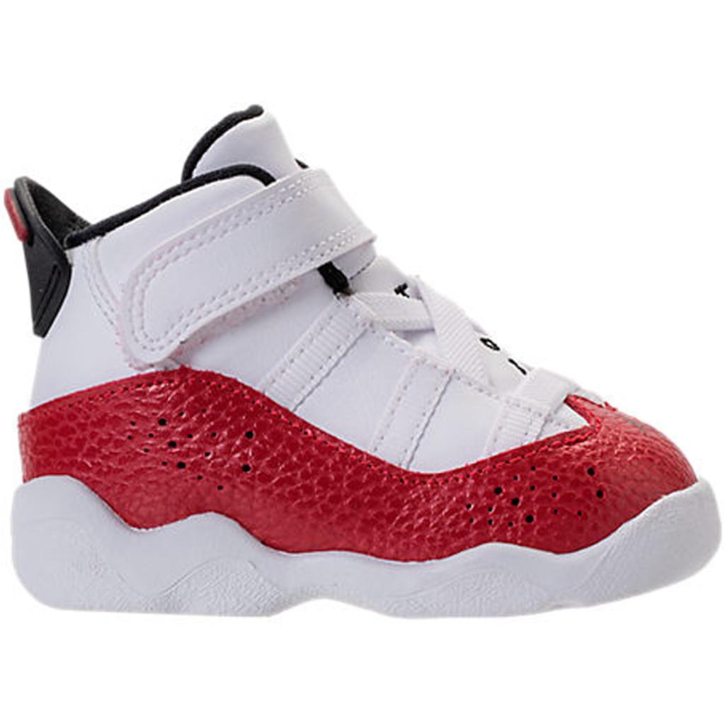 Jordan 6 Rings White University Red (TD)