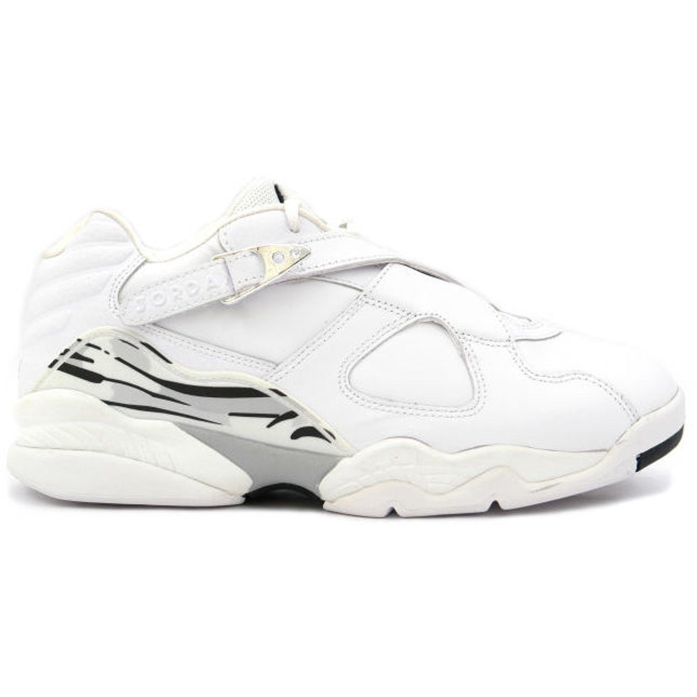 Jordan 8 Retro Low White Metallic Silver (306157-101)