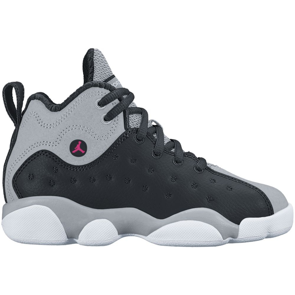 Jordan Jumpman Team 2 Black Vivid Pink Wolf Grey (PS)