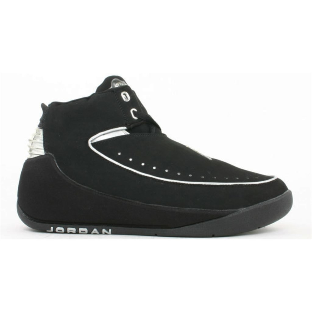 Jordan Nu Retro Air Jordan 2 Black Chrome