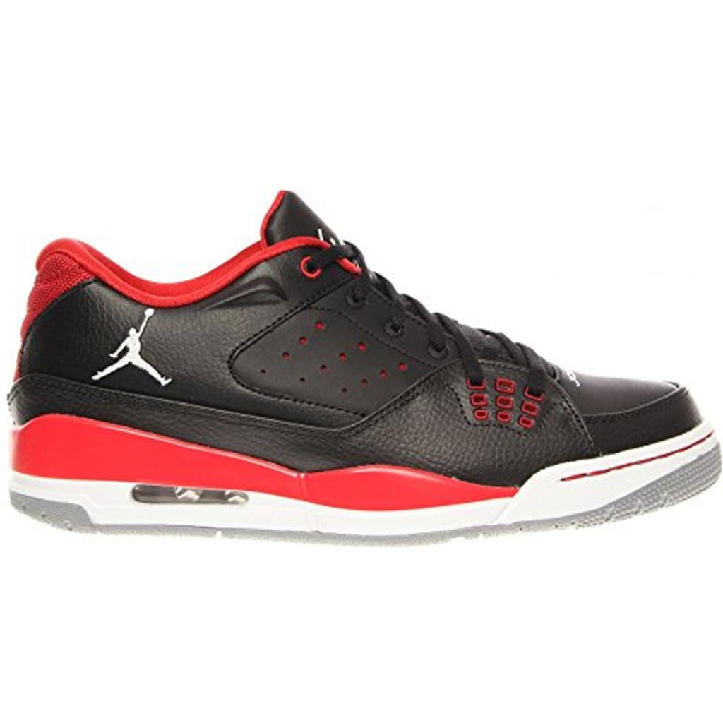 Jordan SC-1 Low Black Fire Red