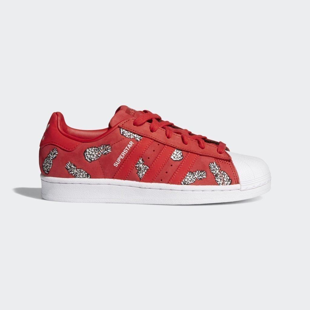 adidas Superstar Scarlet Pinapples (W)