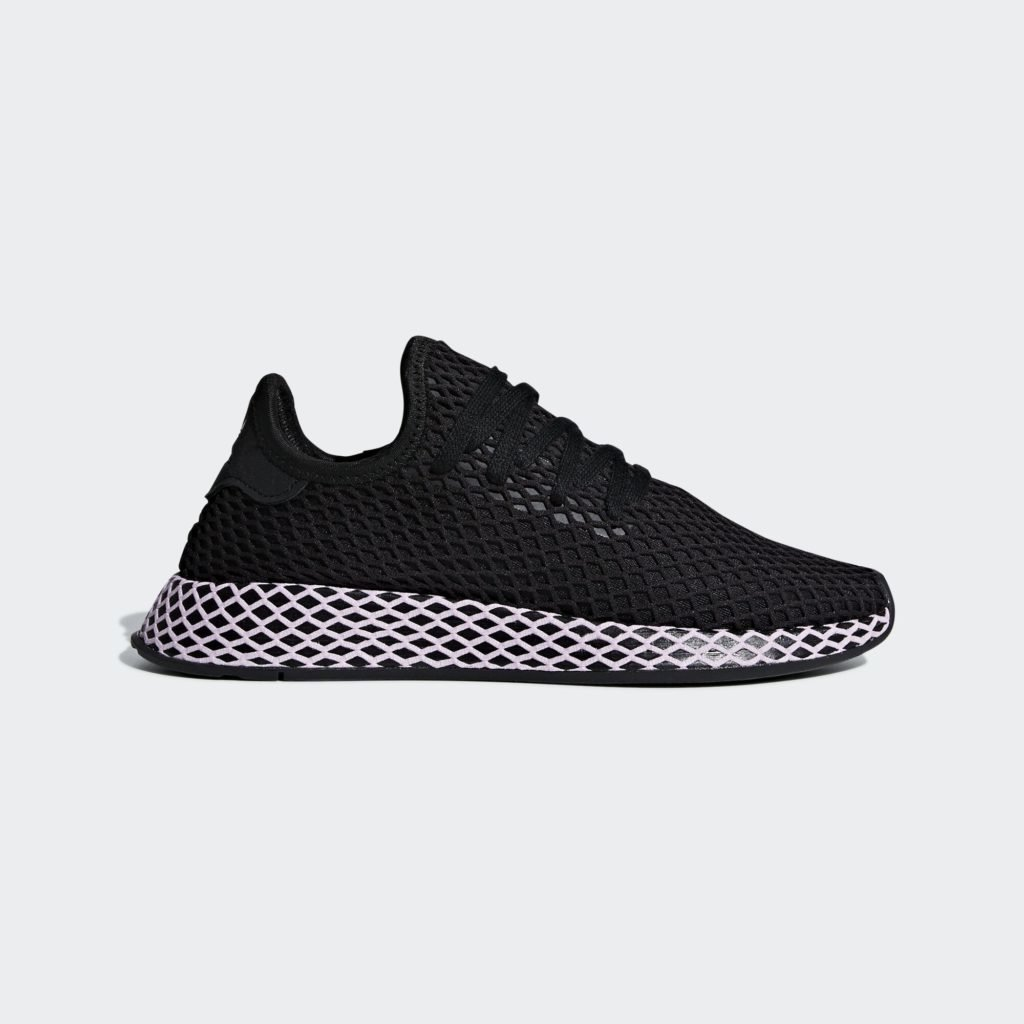 adidas Deerupt Core Black Clear Lilac (W)