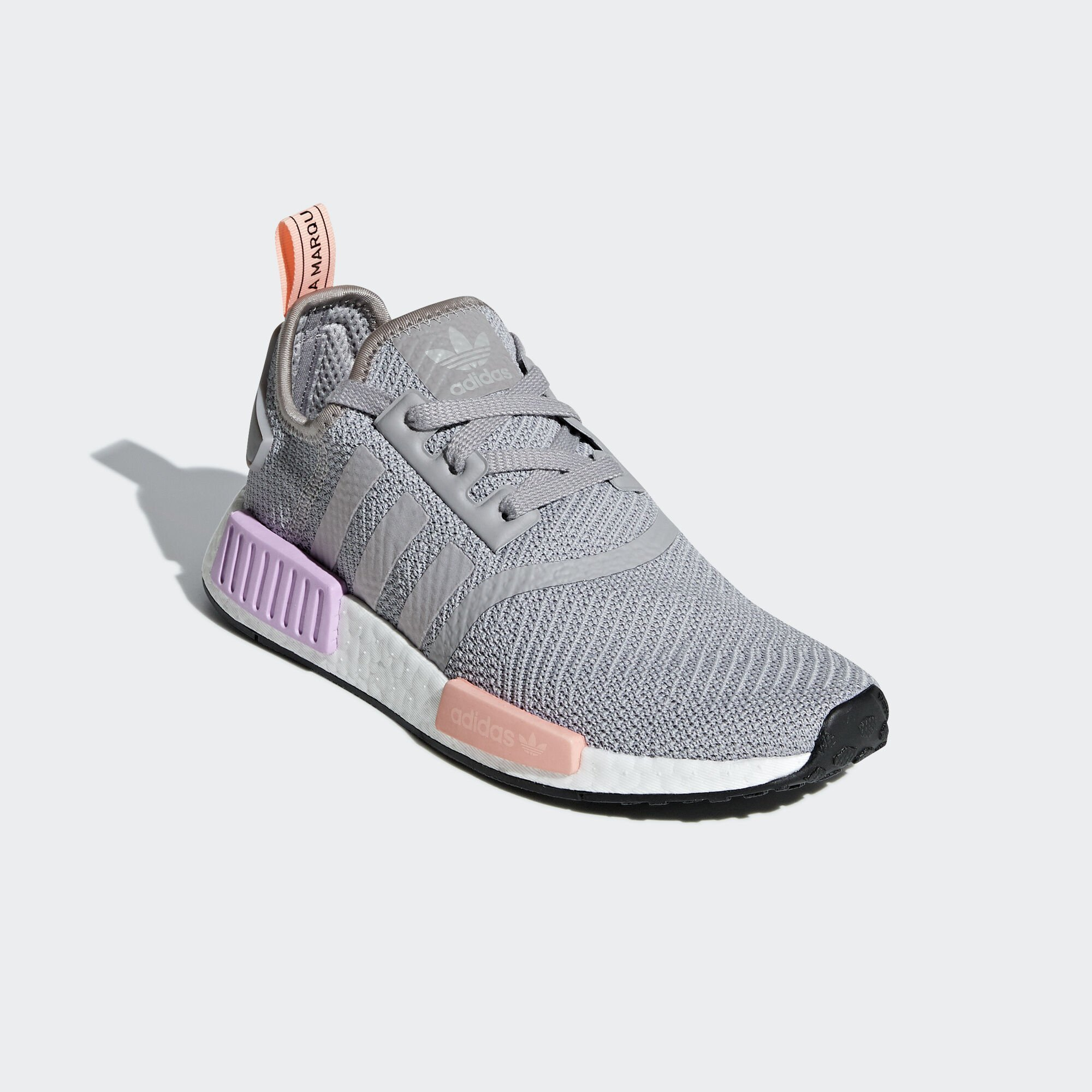 adidas  NMD R1 Light Granite Clear Orange (W) (B37647)