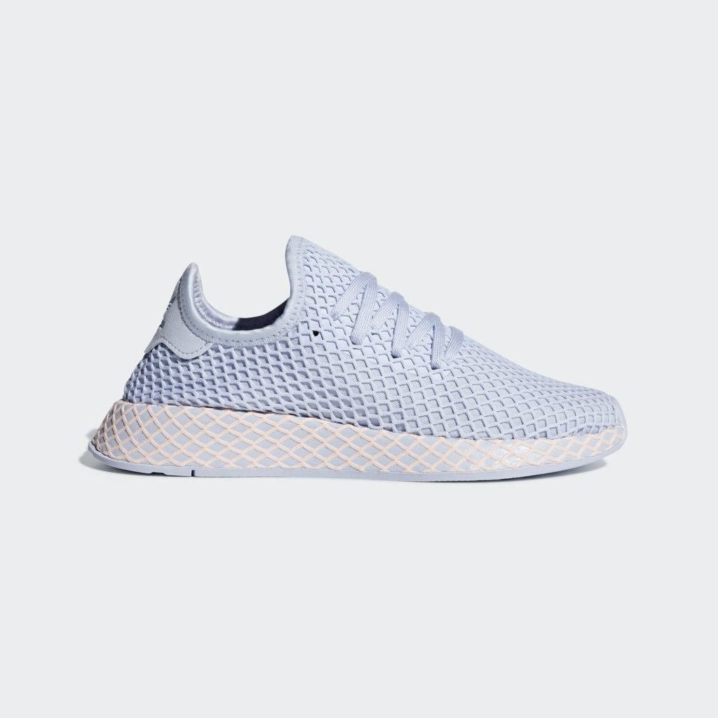 adidas Deerupt Aero Blue Clear Orange (W)