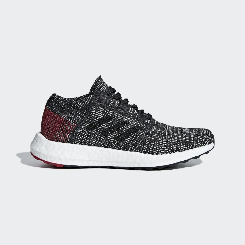 adidas Pureboost Go Carbon Power Red (GS)