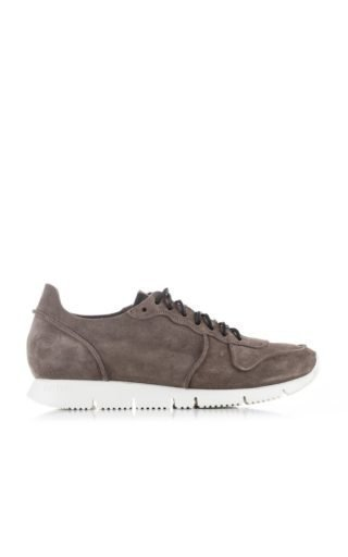 Buttero B5910 Carrera Sneakers Suede Taupe