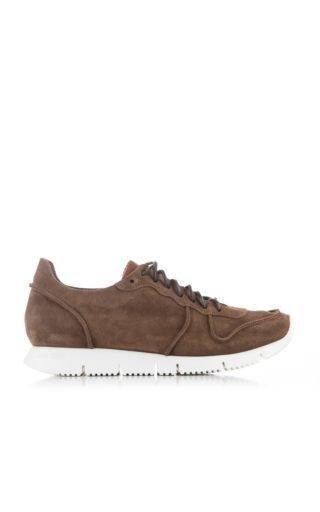 Buttero B5910 Carrera Sneakers Suede Tabacco