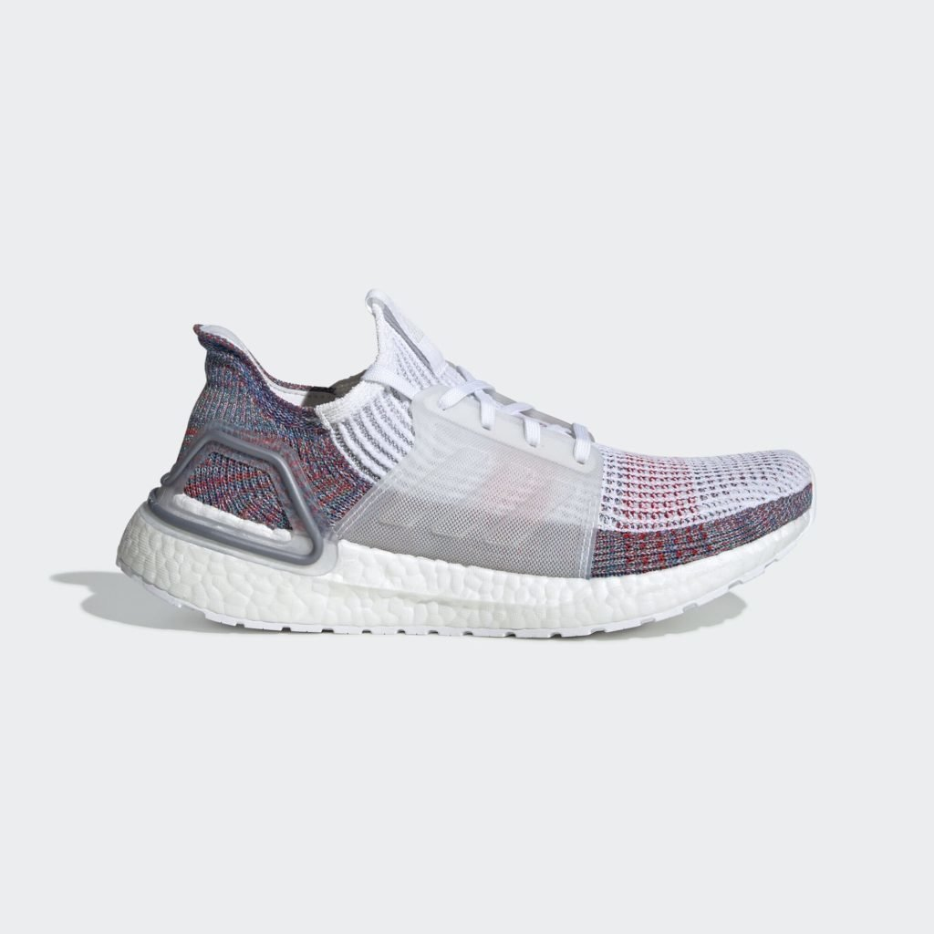 adidas Ultra Boost 2019 White Blue Multi-Color (W)