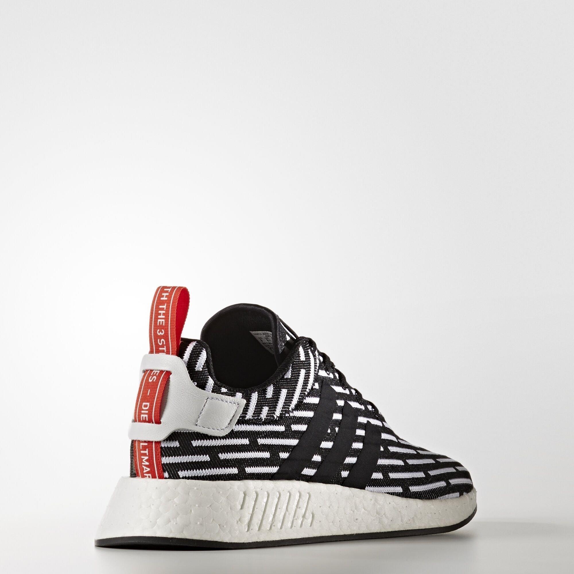 adidas NMD R2 Black White (BB2951)