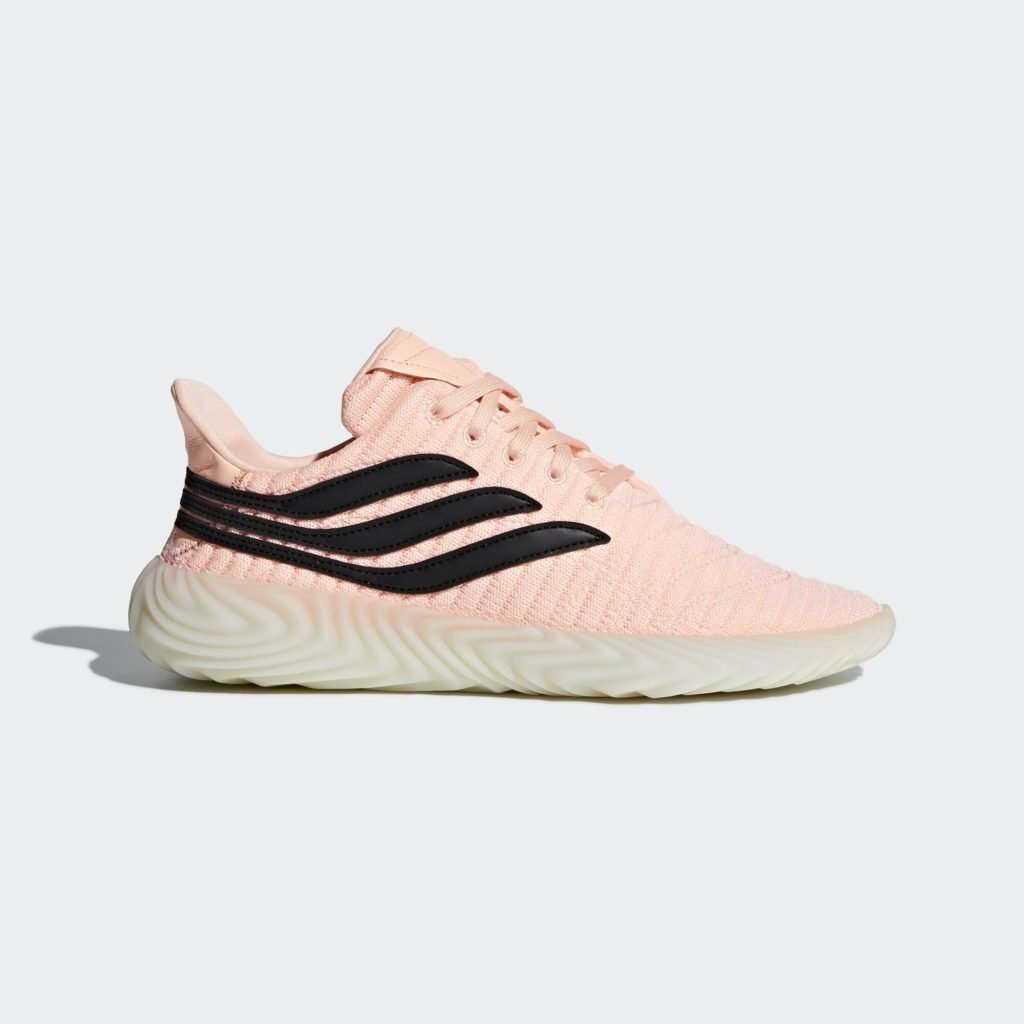 adidas Sobakov Clear Orange Core Black